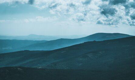 Krkonoše spadající do kategorie národní parky Česka.