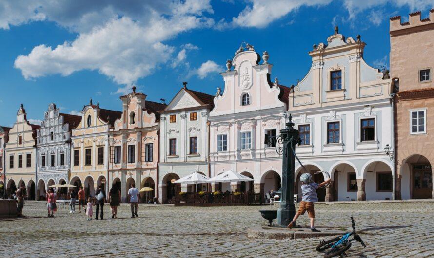 Zámek Telč je krásnou kulturní památkou